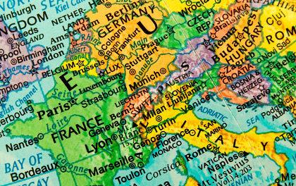 Entwicklung von Schiefergas in Europa und den USA