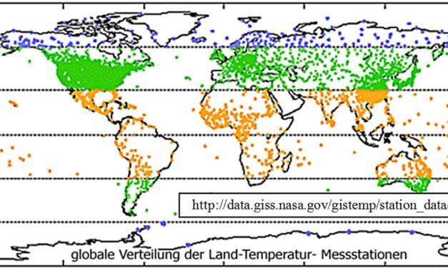 Wie kann man eine mittlere Globaltemperatur ermitteln? Was die Statistik verlangt und erlaubt