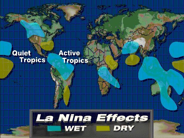 La Niña und El Niño, was sich dahinter verbirgt und was sie, wann auslöst – Die Sonne ist an allem schuld