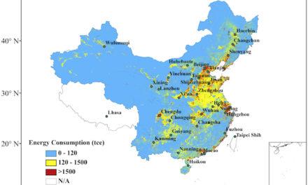 Neue Studie: Zusammenhang zwischen UHI bzw. Energieverbrauch und langzeitlichen Temperaturänderungen in China