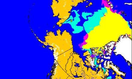 NOAA zeigt 36% mehr Eis als während des Minimums 2007