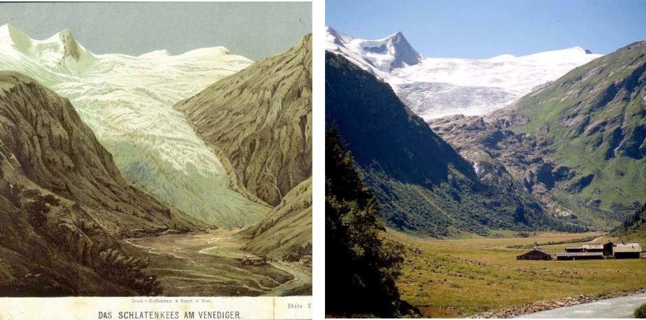 Klimawandel und die Gletscher in den österreichischen Alpen als Zeitzeugen!