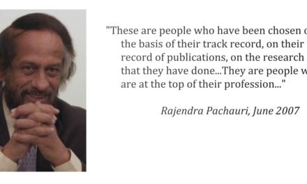 Das IPCC und die Wahrheit- Transparenz unbekannt- Studenten und Aktivisten sind Leitautoren