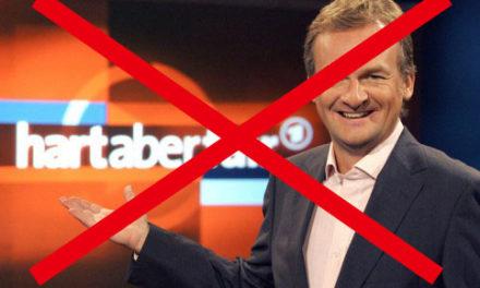 """Letzte Meldung: Fritz Vahrenholt in Plasbergs Sendung """"Hart aber fair"""" abgesagt!"""