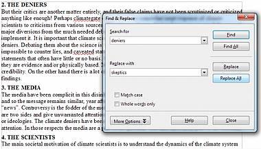 Eindeutige Mehrdeutigkeit – ein offener Brief an IPCC Leitautor Autor Dr. Kevin Trenberth