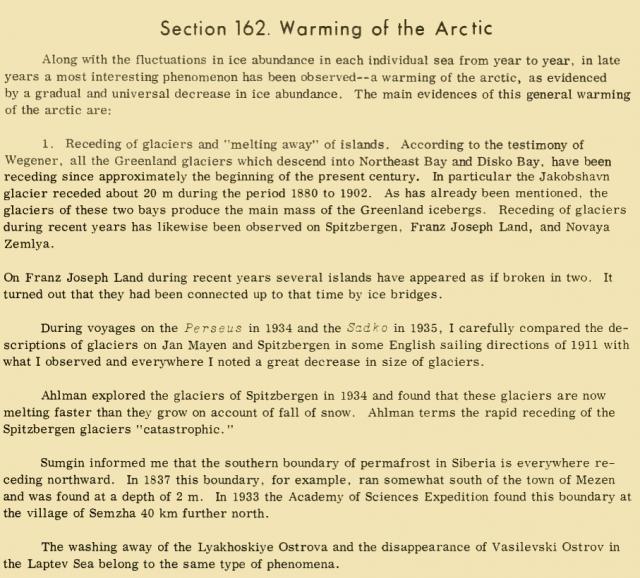 Katastrophaler Rückzug der Gletscher auf Spitzbergen! Brandheiße Meldung von:  1934!