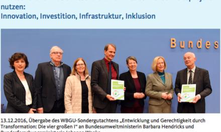 Neues vom Wissenschaftlichen Beirat Globale Umwelt: Neue Erbschaftssteuer: denn Oma war Klimasünder