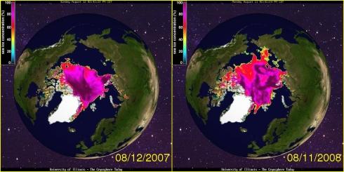 Die Arktis weigert sich zu schmelzen, Alarmrufe beruhen auf vorläufigen Daten!