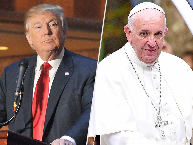 Papst warnt Trump: Ziehen Sie sich nicht aus dem UN-Klima-Pakt zurück – ruft eine ,Krise des Klimawandels' aus