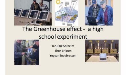 """10. IKEK – Prof. em. Jan-Erik Solheim: Start des zweitägigen """"Al Gore-Experiments"""""""