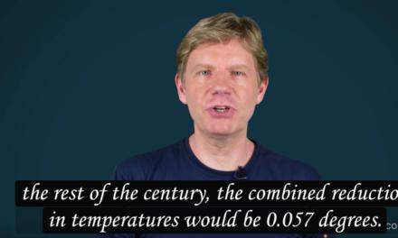 Statistiker: UN-Klimavertrag wird 100 Billionen Dollar kosten – und keine Auswirkungen haben – Verschiebung der Erwärmung bis 2100 um weniger als vier Jahre!