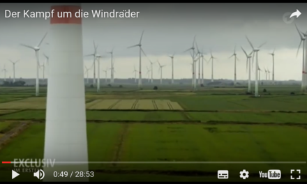 Wie geil ist das denn, wir können Energie erzeugen, ohne die Landschaft kaputt zu machen
