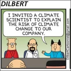 Dilbert Sonntags-Comic entlarvt die Klimawissenschaft auf urkomische Weise