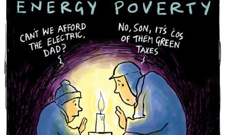 Woche der grünen Energie-Armut