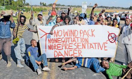 Die Menschen wehren sich: Kenias Regierung stoppt die illegale Landaneignung der Windindustrie