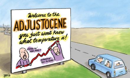 Brandaktuelle Studie: Temperatur-Adjustierungen machen ,fast die gesamte Erwärmung' in den Klimadaten der Regierung aus