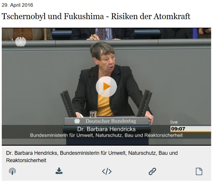 """Randalen von Atomfrontkämpfern werden von Frau Hendricks ausdrücklich als """"Freunde des Staates und der Gesellschaft"""" gelobt"""