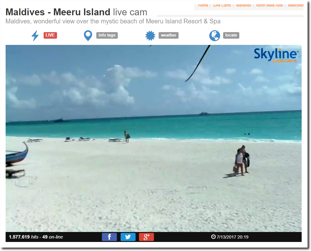 Nur noch wenige Wochen, und die Malediven sind untergegangen