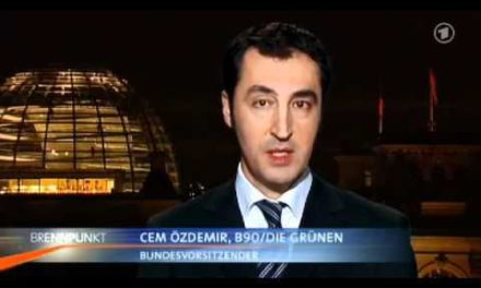 Cem Özdemir versucht sich in Energie