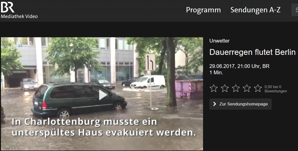 Die Starkregen vom Juli 2017 in Deutschland sind (keine) Menetekel eines Klimawandels
