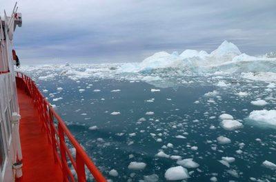 Ist die arktische Eisbedeckung halb voll oder halb leer?