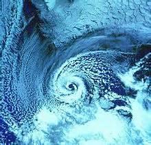 Hurrikan Ophelia: vom Wirbelsturm zum Sturmwirbel