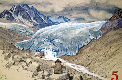 Natürliche und nicht anthropogene Klimaschwankungen dokumentiert an den Gletschervorstößen des Vernagtferners