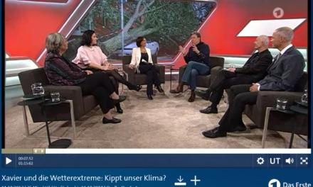 Bärbel Höhn beschwert sich, dass Herr Kachelmann Fakten über den Klimawandel erzählt