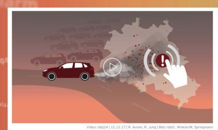 """Falscher Stickoxid-Alarm des ÖR- Senders """"rbb"""" soll Dieselverbot beschleunigen"""