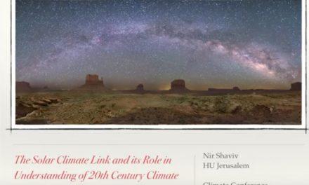 Prof. Dr. Nir Shaviv: Der Einfluss kosmischer Strahlung auf das Klima – Teil 1 (IKEK-11) 323 Aufrufe