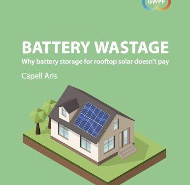 """Neue Studie: Batterie-Speicherung """"keine ökonomische Perspektive"""""""