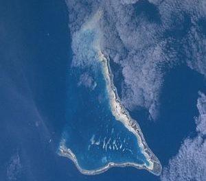Die Probleme der Versorgung auf Tarawa.(Kiribati)