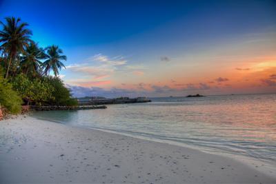 Früher war hier der Strand …