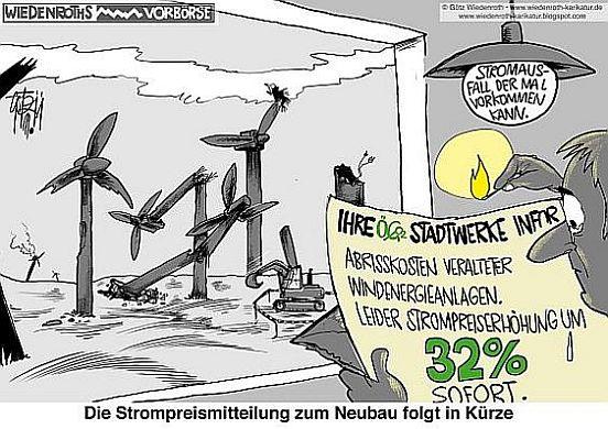 Das Windräder-Sterben in Mecklenburg-Vorpommern steht bevor
