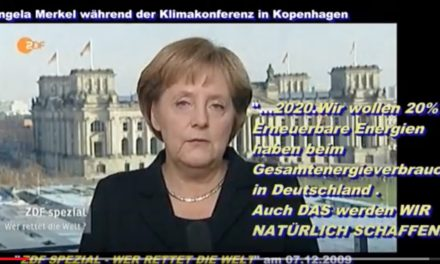 """Klimaschutzweltmeister Deutschland versagt beim """"Klimaschutz"""""""