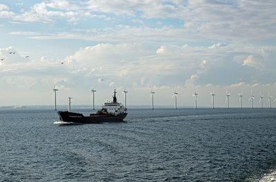 Offshore-Windpark in schwerer See: Fischer schreien den Entwicklern zu: Haut ab!