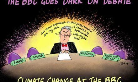 Die BBC verbietet offiziell Klimaskeptiker ins Programm einzuladen