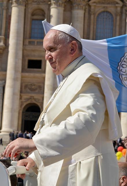 Der Papst sorgt sich mehr um wichtige Probleme wie z.B. Klimawandel, als um Pädophilie in der Kirche