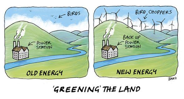 Vom Winde verweht – Fünfundzwanzig Täuschungen der industriellen Windenergie – Teil 2 von 2