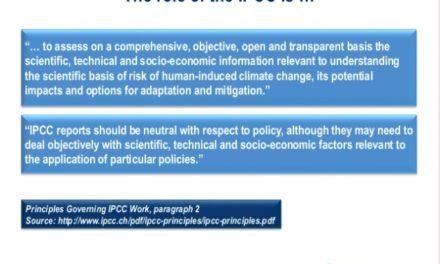 Heimlich, still und leise – das IPCC ändert sein Mandat