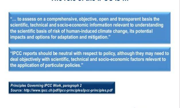 Die Welt ist verloren – der neue IPCC Bericht sagt das!