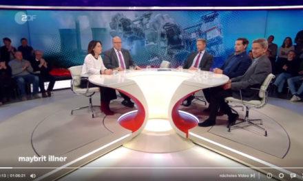 GLAUBE VERSUS WIRKLICHKEIT  — Maybrit Illner im Klima-TV