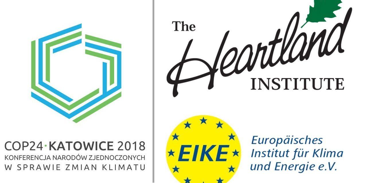 EIKE und Heartland bei COP-24 in Kattowitz