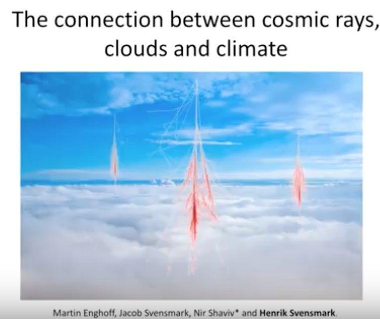 Prof. Henryk Svensmark. Der Einfluss kosmischer Strahlung auf das Klima– Neueste Forschungsergebnisse und ihre Bedeutung für das Verständnis des Klimawandels 12. IKEK München