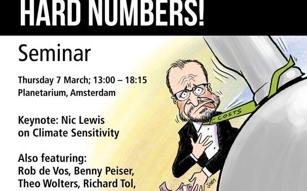 Sensibles Klima? – Harte Zahlen! Klimasymposium am 7.3.19 in Amsterdam