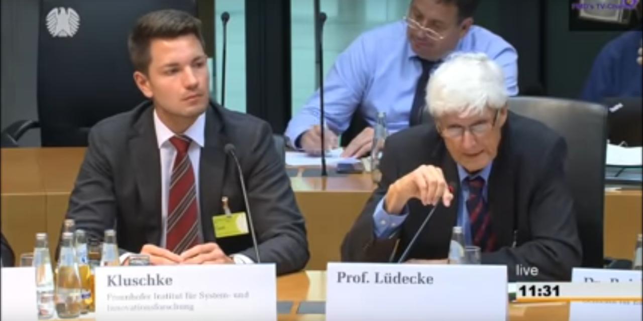 Horst Lüdecke im Bundestag: Vermeidung von CO<sub>2</sub>-Lecks durch den nationalen Brennstoffemissionshandel