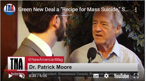 Der Green New Deal würde fast alles töten, warnt Greenpeace-Mitbegründer