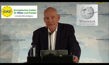 """Sind wir Klimaskeptiker oder schon """"Klimaleugner""""? EIKE und die Wikipedia"""