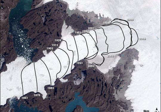 Wachsende Gletscher und steigende Meeresspiegel: Orwellsche Dialektik in den Massenmedien