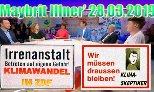 Klima-Tamtam im TV: schon wieder – diesmal bei Maybrit Illner